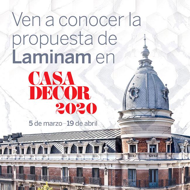Laminam España participará en Casa Decor 2020