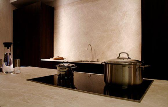 Cocinas en tonos crema, vainilla y beish