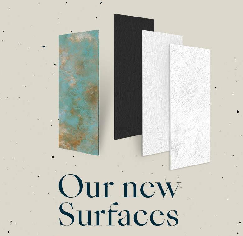 Nacen cuatro nuevos modelos de superficies Laminam