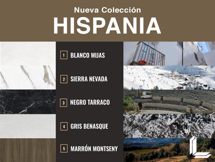 Nueva Colección Hispania de Laminam.